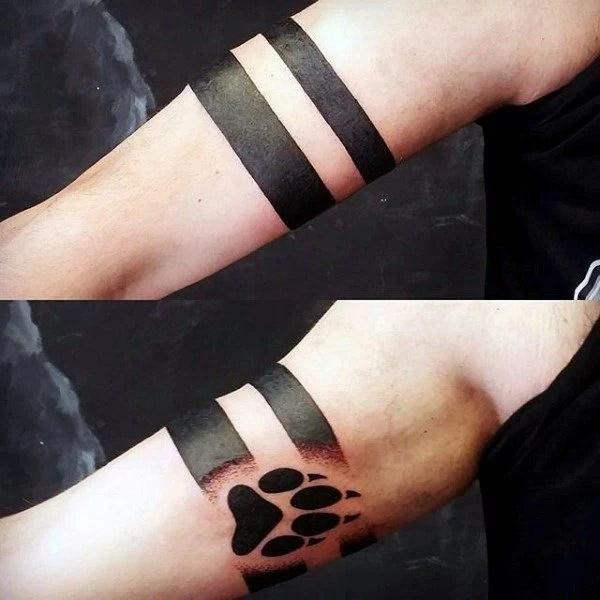 20 Tatuajes Para El Brazo En Forma De Pulsera Que Amarás