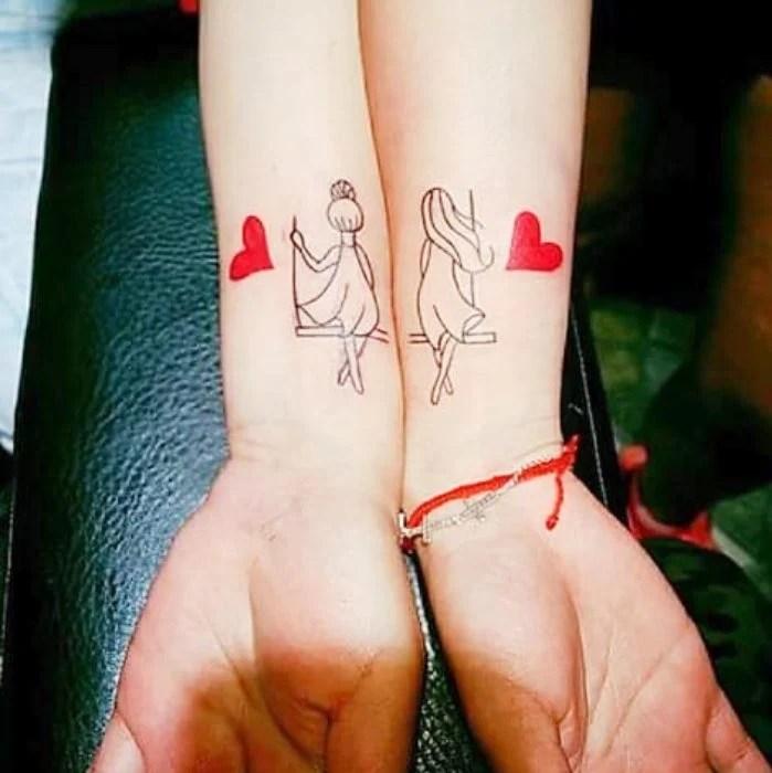 15 Lindos Tatuajes Que Pueden Hacerse Tú Y Tu Hermana