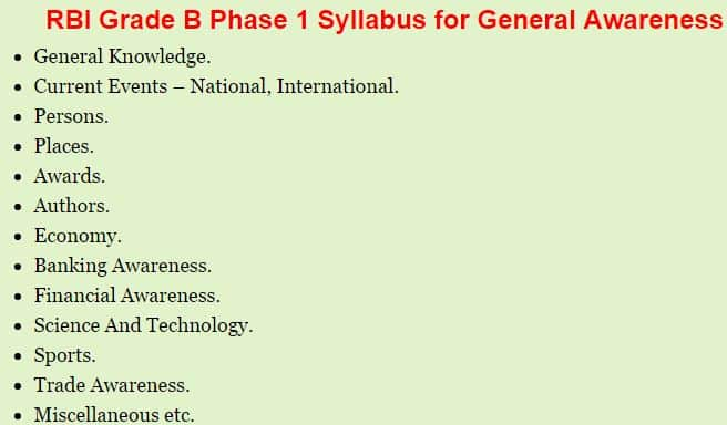RBI Gr B Officer Phase I Previous Papers   Download RBI Grade B Phase I old Papers