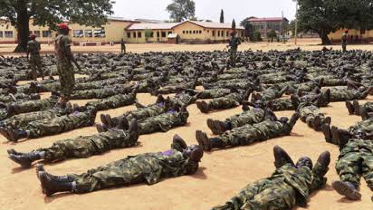 Image result for nigerian army recruitment