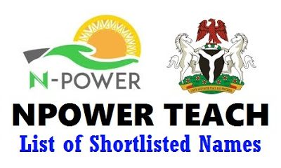 Npower Shortlisted Candidates 2021