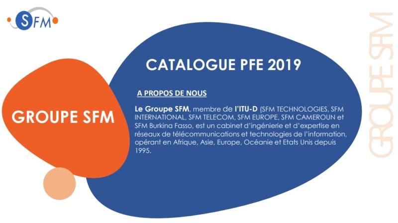 Groupe SFM  // propose [des sujets PFE]