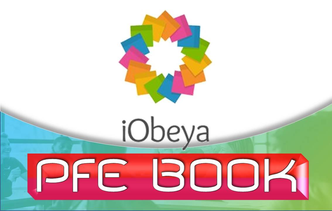 📢 #IOBEYA / organise [PFE BOOK en ligne]