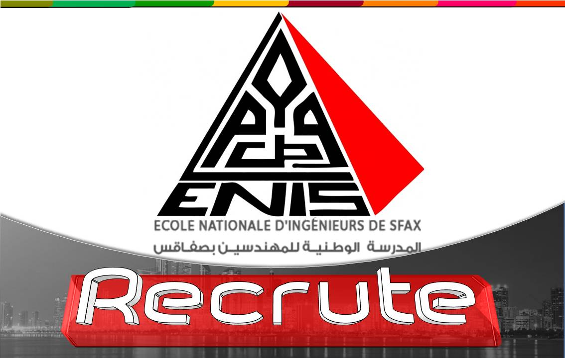 ENIS/ recrute  [ CONTRATS POST-DOC 2020 ]