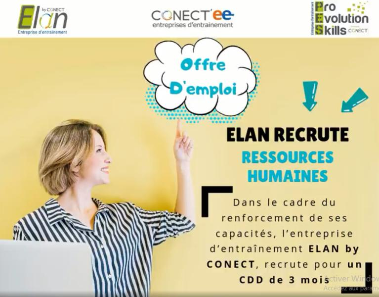 Elan by CONECT / recrute