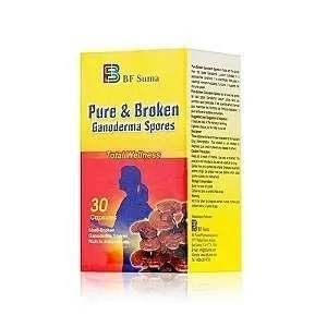 Pure & Broken Ganoderma Spores