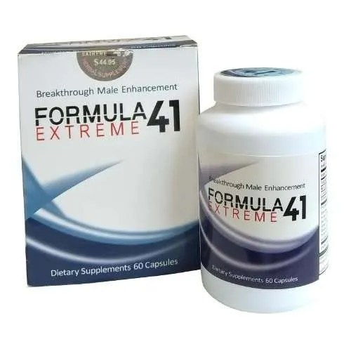 Extreme Breakthrough Formular 41 Extreme – Penis Enlargement & Enhancement