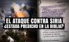 El ataque contra Siria, ¿estaba Predicho en la Biblia?