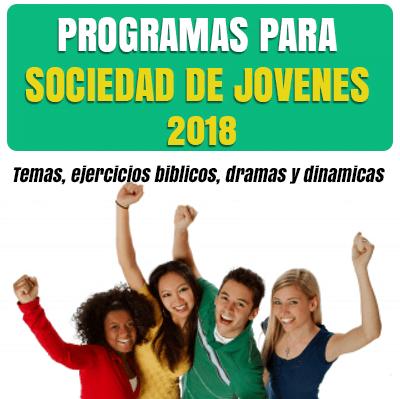 Nuevos Programas Para Sociedad De Jovenes Ejercicios Biblicos Y