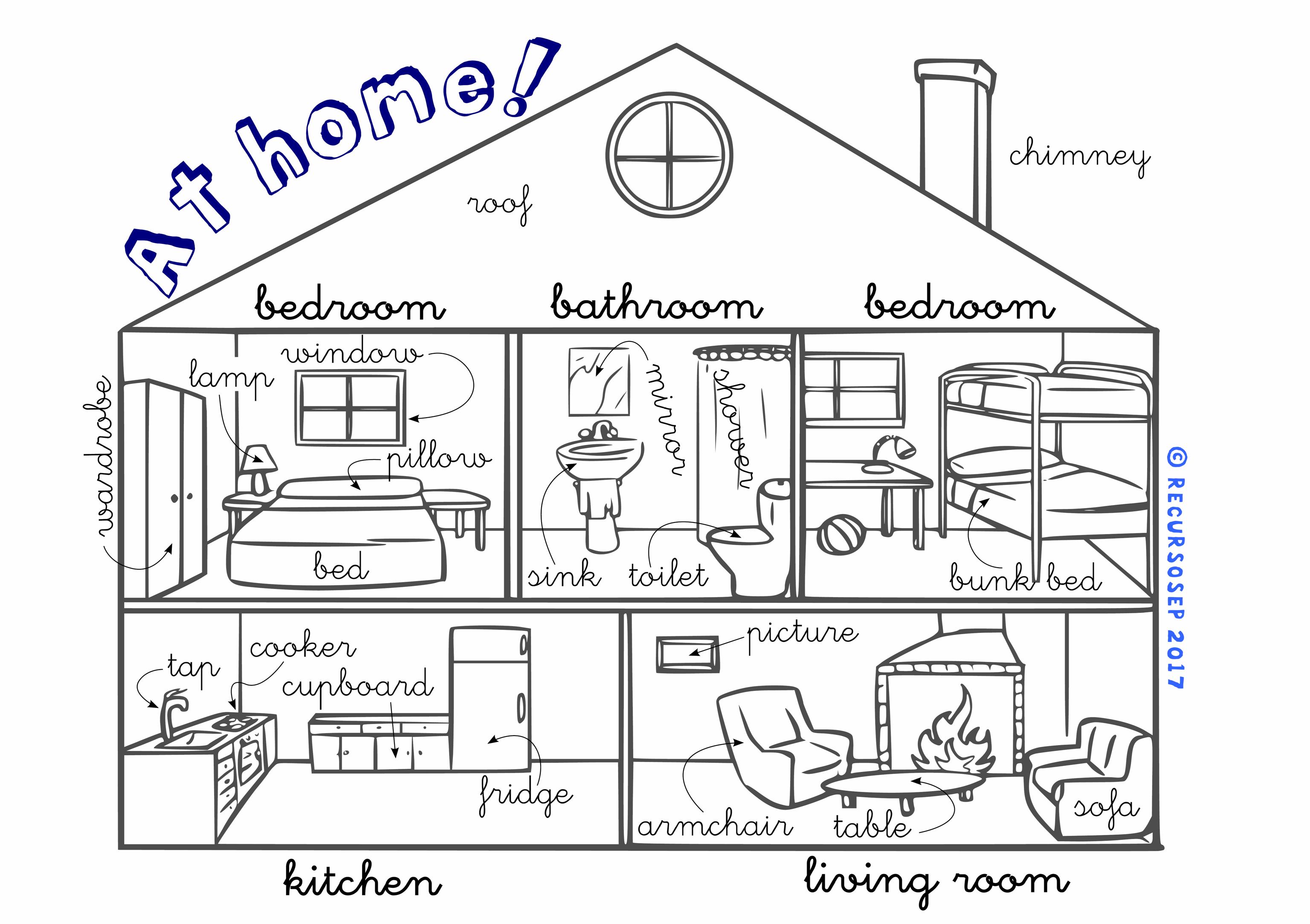 At Home English Vocabulary