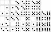 dominó-números-puntitos-configuraciones-fijas