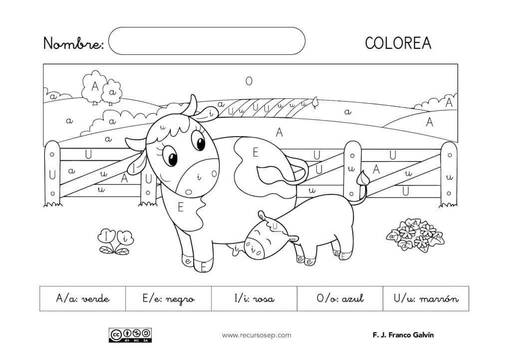 Vocal A Para Colorear Minuscula Y Mayuscula The Gallery Classy World