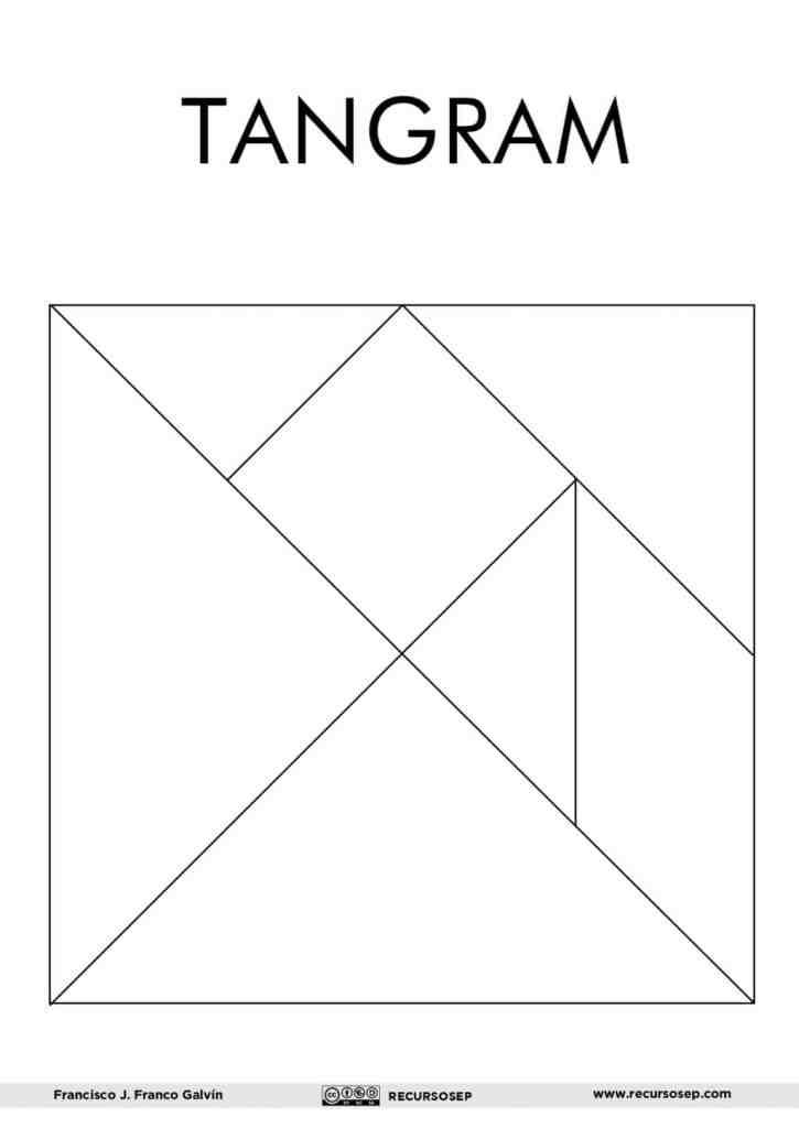 Tangram Para Imprimir Y 60 Figuras Para Construir