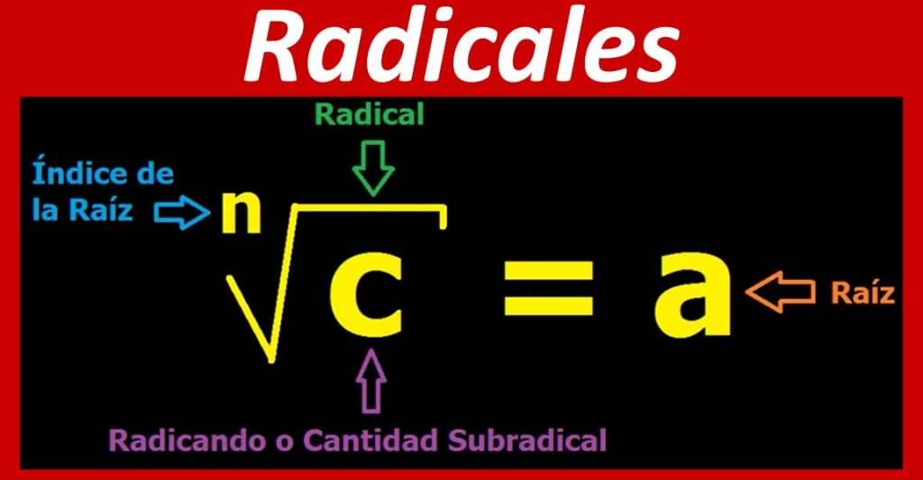 Número radicales