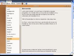 instalacion UBUNTU-idioma de trabajo