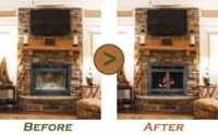 Fireplace Replacement Doors and Fireplace Refacing