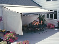 Retractable Awnings > Sunsetter Side Weatherbreaker Panel