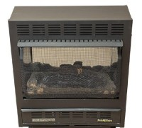 Ventless Gas Fireplaces Only > Buck Model 1127 Vent Free ...