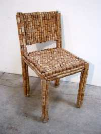 Cork Chair & Side Table  Recyclart