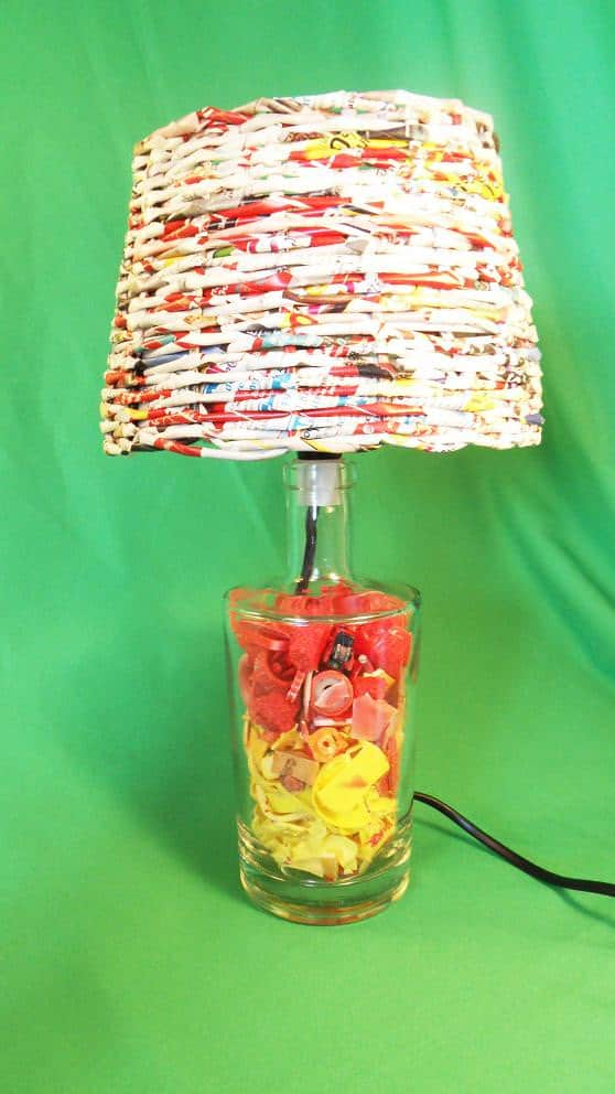 Recycled Plastic Beach Into Desk Lamps  Recyclart
