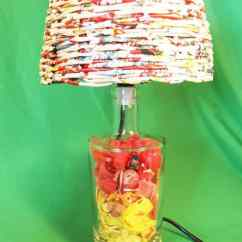 Outdoor Kitchen Plans Free Cabinet Organizer Recycled Plastic Beach Into Desk Lamps • Recyclart