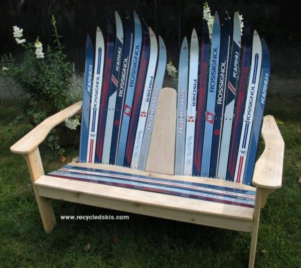 Ski Chair  Other Winter Furniture  Recyclart