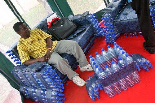 Bottles Furniture Recyclart