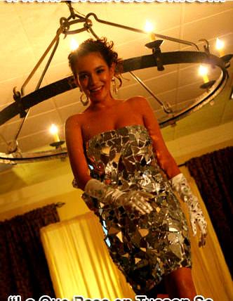 Огледална рокля