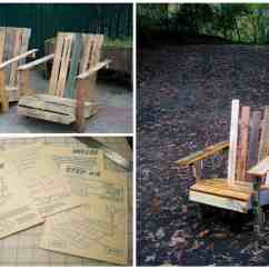 Diy Pallet Rocking Chair Plans Plastic Table And Chairs For Kids Adirondack  Recyclart