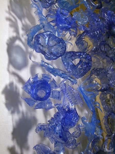 Arctic Garden Sculpture Using Reshape Plastic Bottles