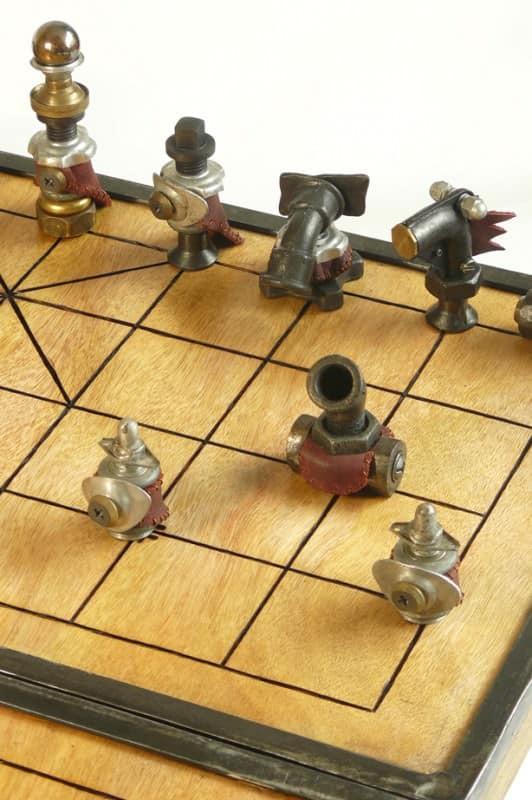Xiang Qi Ca Tuong Chinese Chess Set Recyclart
