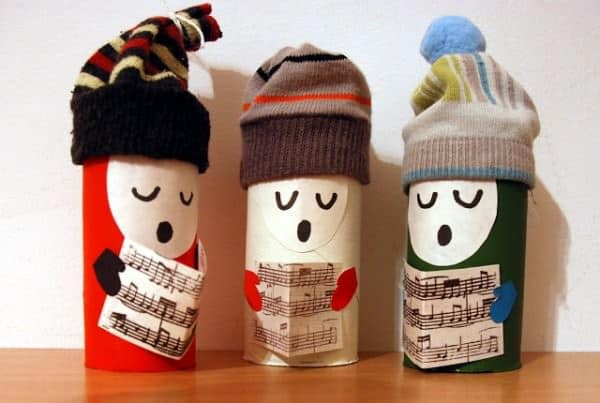 10 Christmas Craft Projects Made Out Of Upcycled Toilet Paper Rolls Recyclart