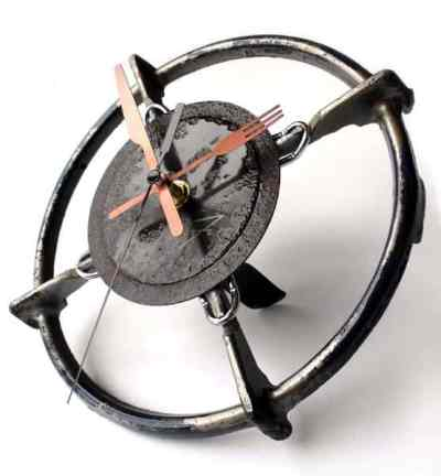 Upcycling Ideas Upcycled Kitchenware Utensils Reduce Reuse Recycle Upcycle Kitchen Stove Grate Clock Fork Knife