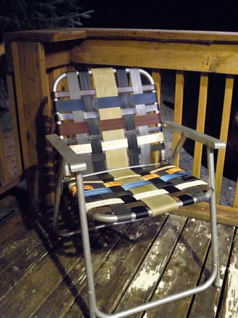 Aluminum Lawn Chair