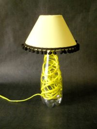 Plastic Bottle Lamp  Recyclart