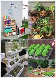 Easy Pallet Ideas Garden Balcony Recyclart