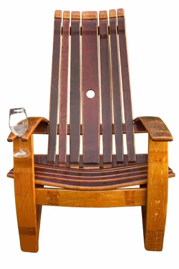 barrel stave adirondack chair plans folding kitty oak wine recyclart 150523 products 001
