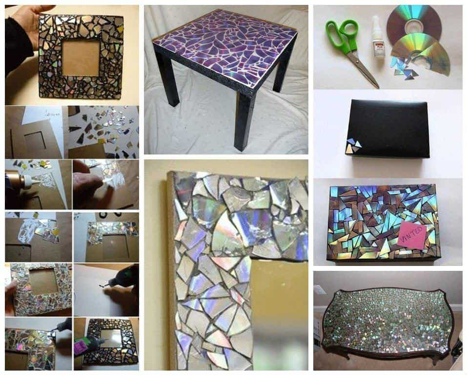 Easy Ideas to Reuse Old Cds  Recyclart