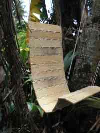 Outdoor Pallet Hanging Chair  Free PDF Tutorials  Recyclart