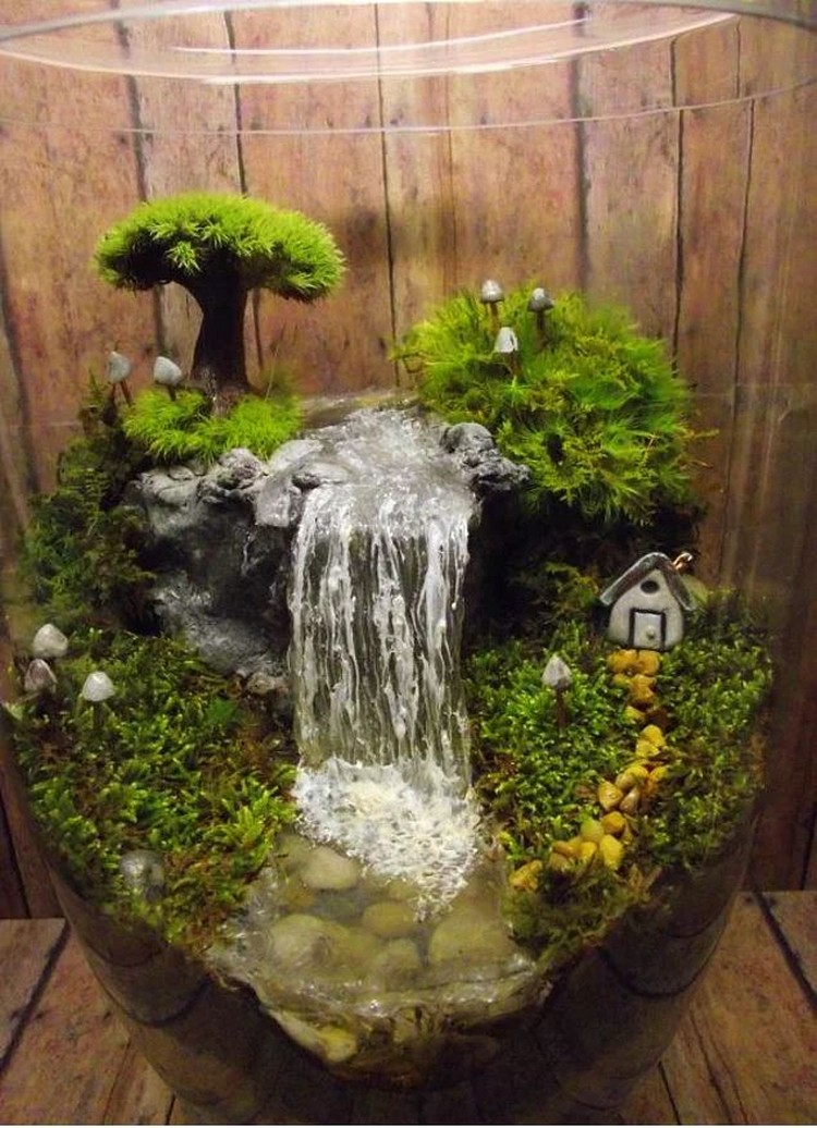 Decorate Your Home With Terrariums Recycled Crafts