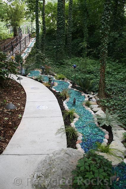 Recycled Rocks  Glass Landscaping Rocks