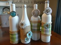 Recycled Wine Bottles Unique Decorations | Recycled Things