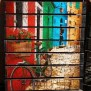 Diy Recycled Pallet Wood Wall Art Recycled Crafts