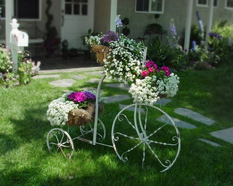 Fast And Fabulous Garden Decorating Ideas Recycled Things