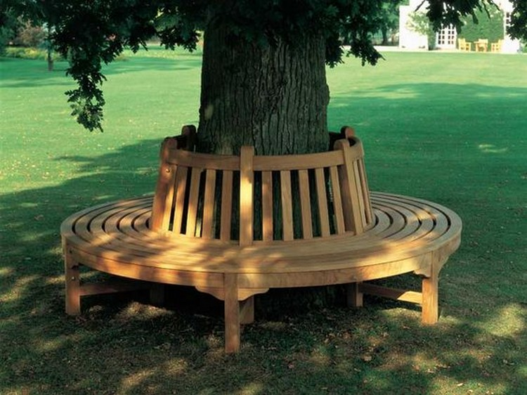 Creative Amp Inspiring Tree Seats Around Trees Recycled Crafts
