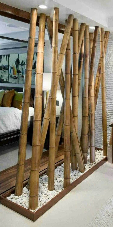 Bamboo Sticks Decoration Ideas