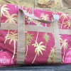 Hawaiian Travel Bags Fuschia Palm Tree 2