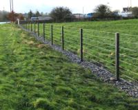 Post & Wire Fencing - Murray's Recycled Plastic