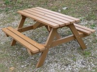 Recycled Plastic Picnic Table | Garden Table | Traditional ...