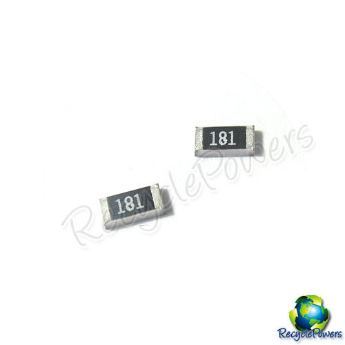 50x 180 Ohm Chip 1206 SMD Resistors RoHs Surface Mount